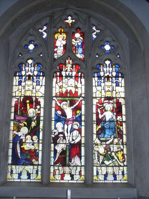 East Window, Greywell Church