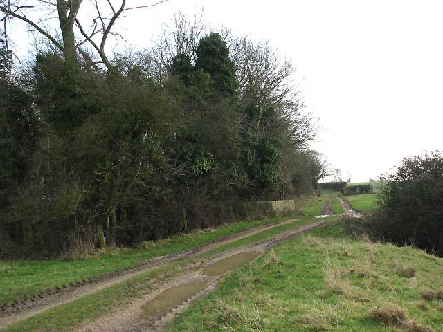 Footpath south