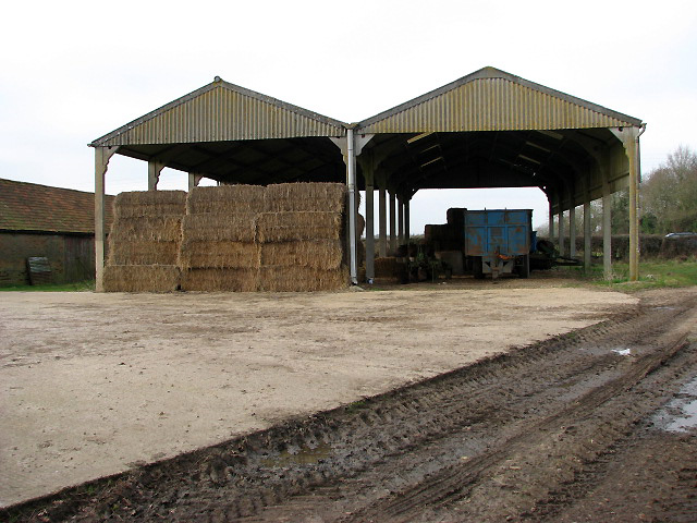 Two farm sheds