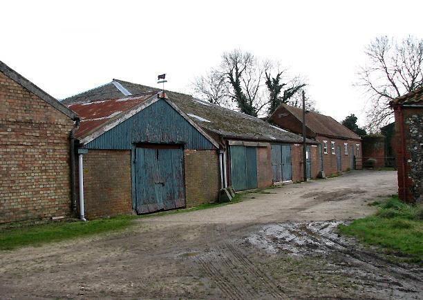 Farm barns and sheds