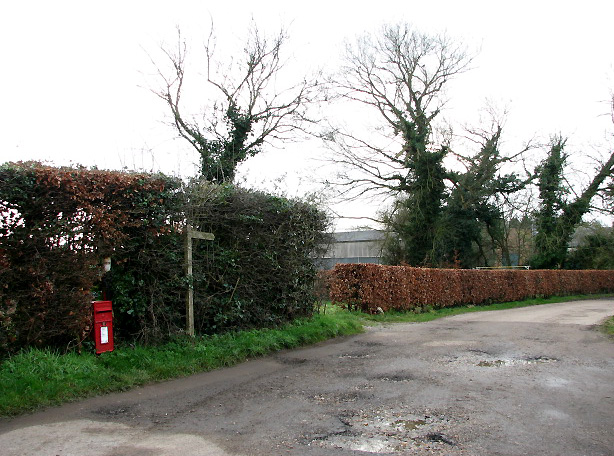 Access road to Manor Farm