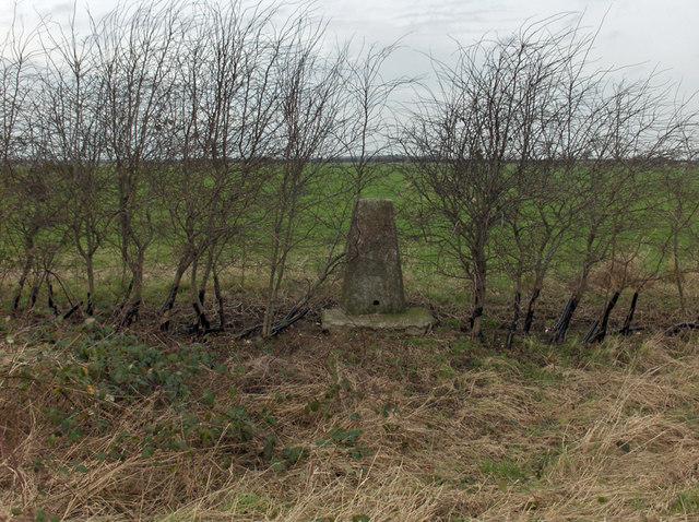 Wootton Wold Triangulation Pillar