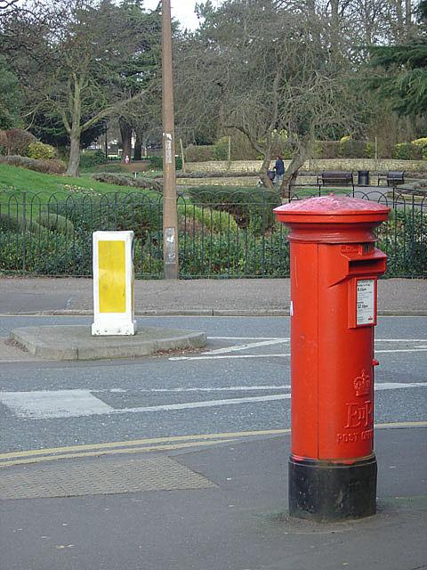 Pillar box by the Park