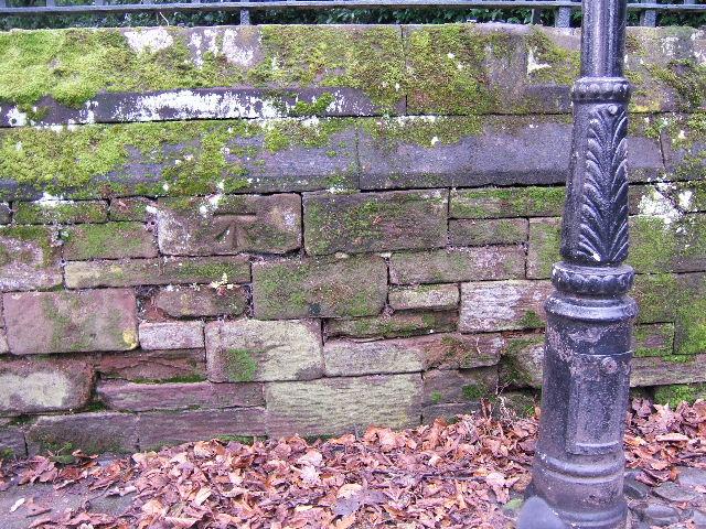 Bench Mark near St. John's Church