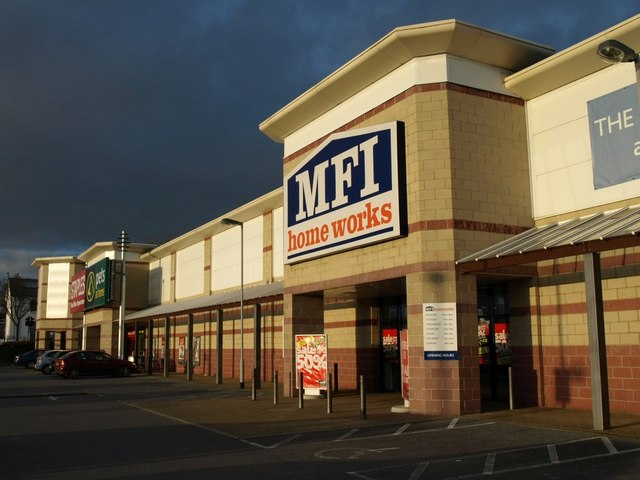 MFI, Bridge Retail Park, Torquay