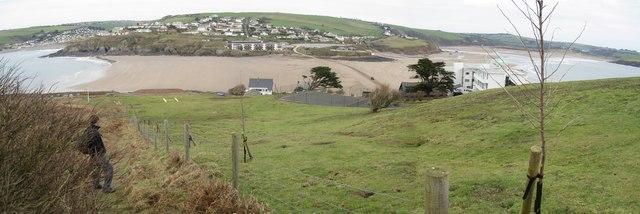 Bigbury-on-Sea from Burgh Island
