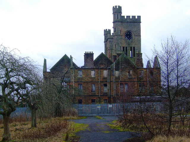 Ruins of Hartwood mental hospital