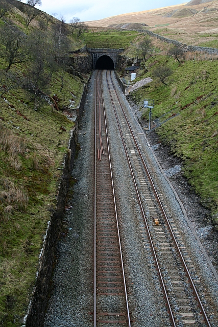 Southern End of Blea Moor Tunnel