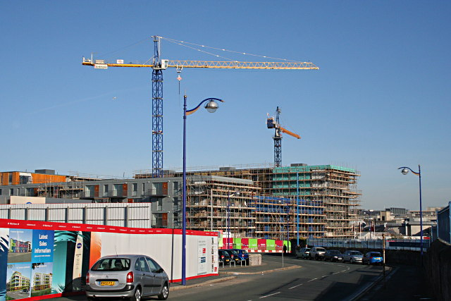 Another Apartment Block Goes Up