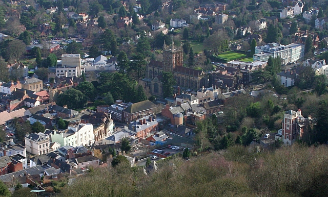 Great Malvern Town Centre