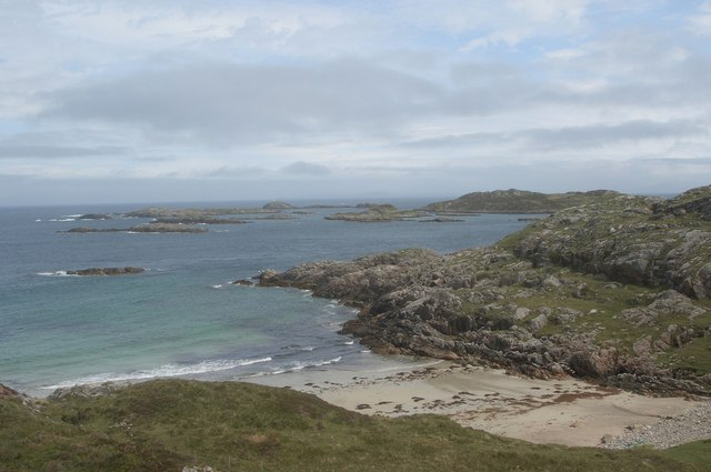 Cove 1 km NW of Sorisdale, Coll