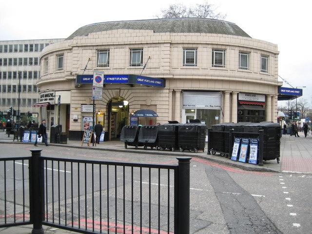 Great Portland Street tube station