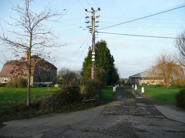 Market gardening business in Almodington