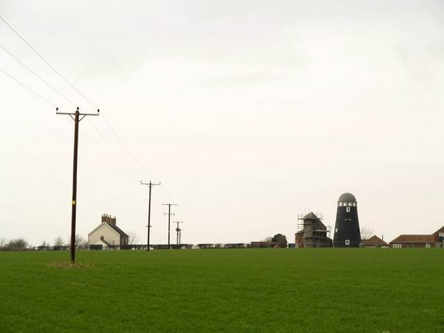 Converted Windmill at Mill Farm
