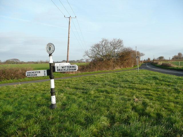 Earnley road junction
