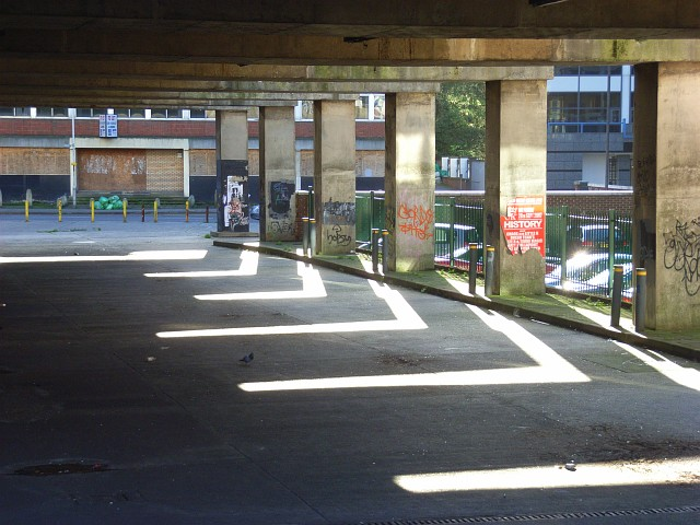 Reading's derelict bus station