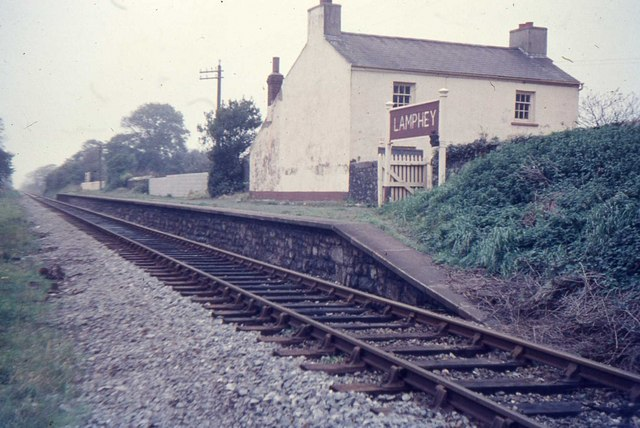 Lamphey Railway Station