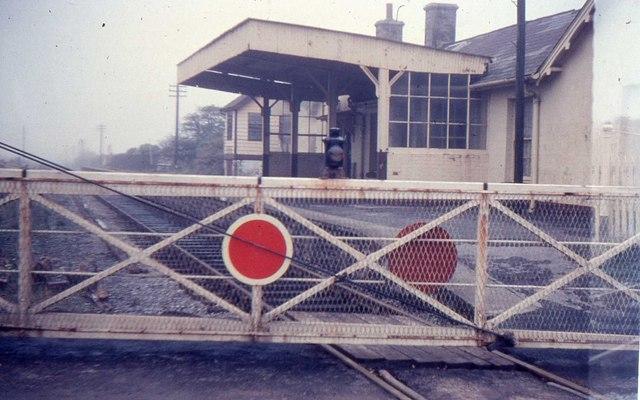 Manorbier Railway Station