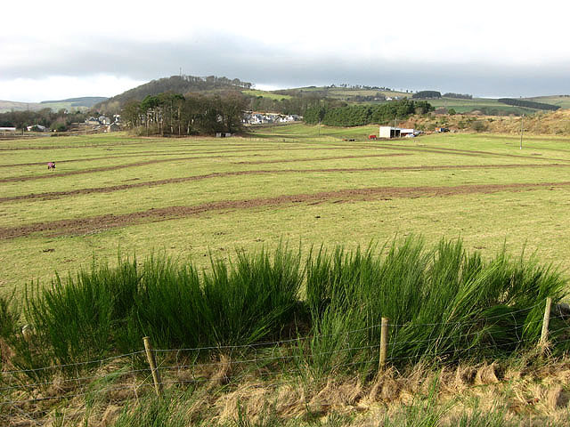 Proposed housing site at Easter Langlee, Galashiels
