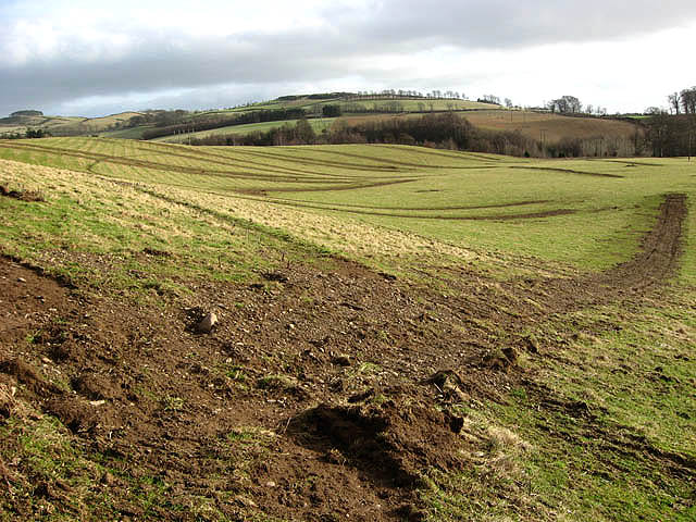 Farmland zoned for housing at Easter Langlee