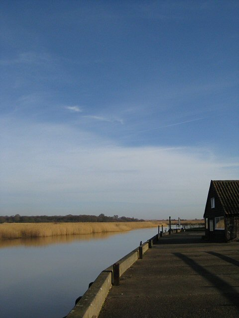 The quay at Snape Maltings