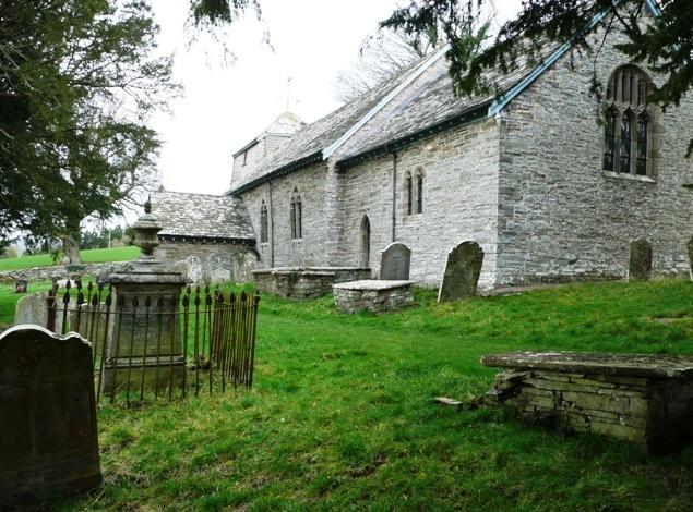 Llanstephan church