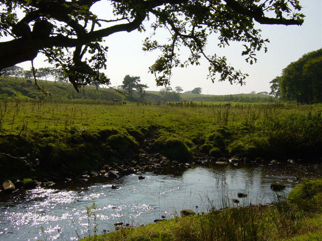 The Breich Water near Black Hill