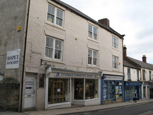 Tynedale Community Hospice Shop, Battle Hill