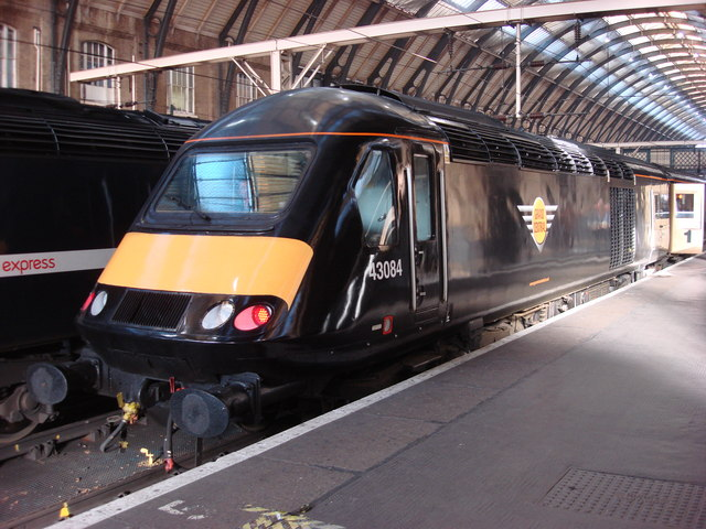 Grand Central train at King's Cross