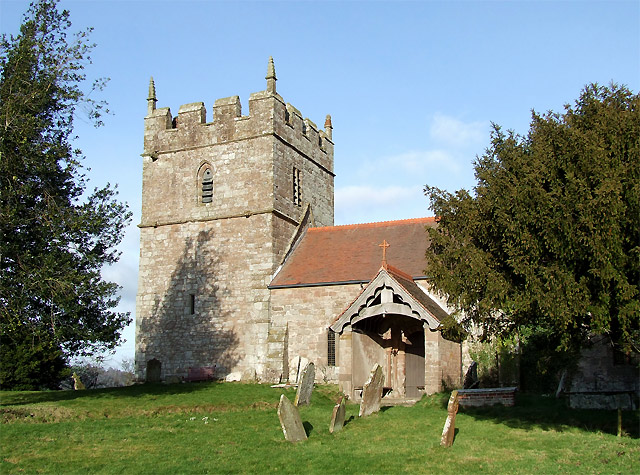 Holy Trinity Church at Holdgate, Shropshire
