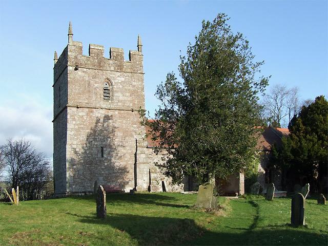 Holy Trinity Church at Holdgate, Shropshire