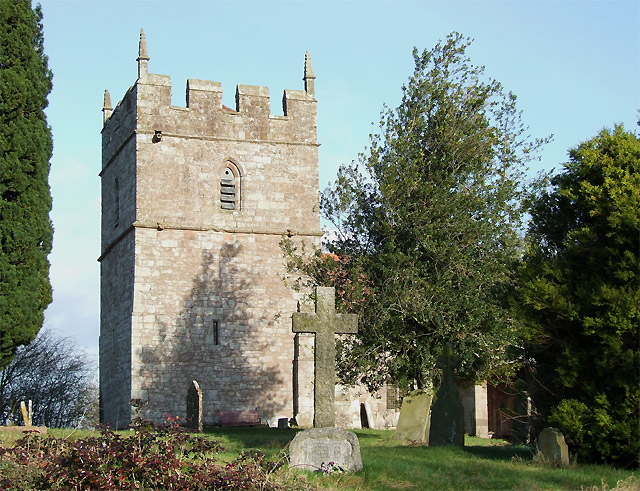 Holy Trinity Church Tower, Holdgate, Shropshire
