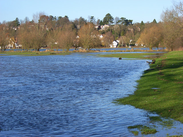 The Thames floodplain, Reading