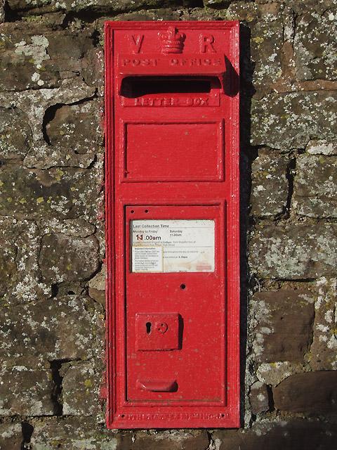 Victorian Post Box, Holdgate Shropshire
