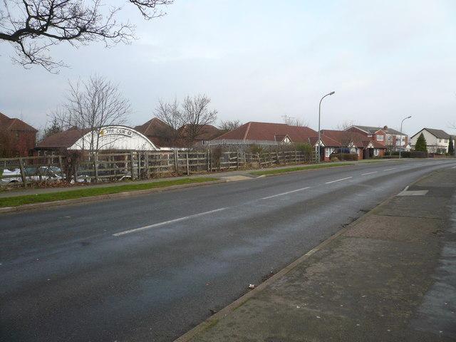 Middlecroft Road