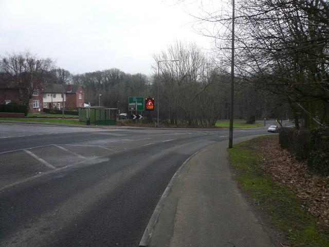 Approaching Troughbrook