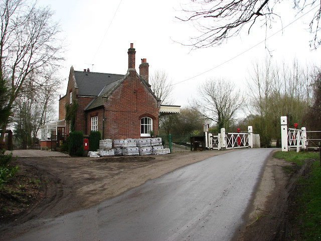 Station House beside Station Road