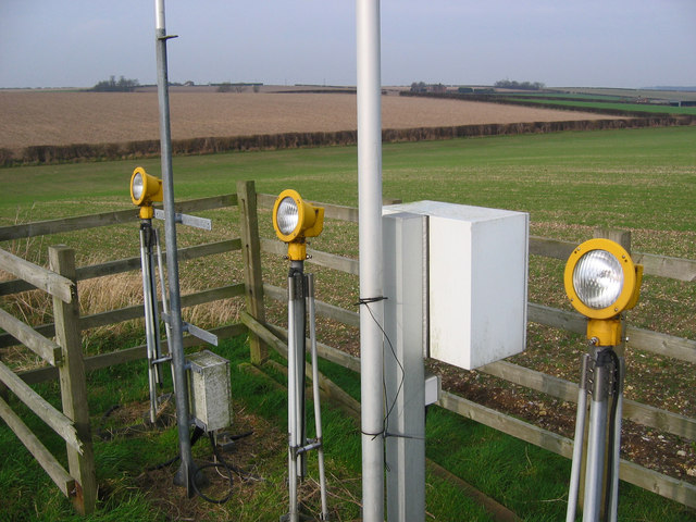 Landing Lights, Humberside Airport