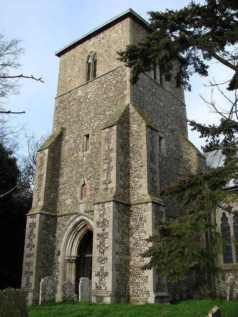St Mary's Church in Whinburgh - tower