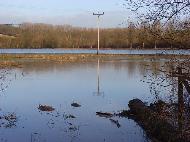 The Thames floodplain, Playhatch
