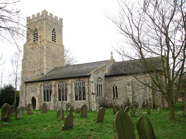 St Margaret's church in Garveston