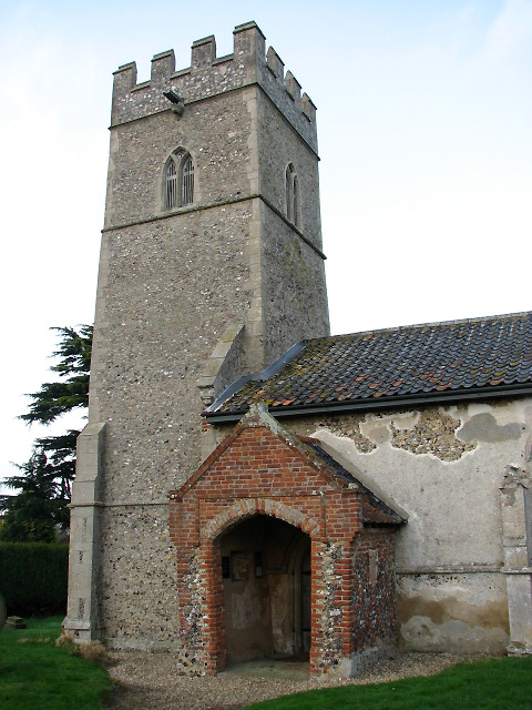 St Michael's Church - porch and tower