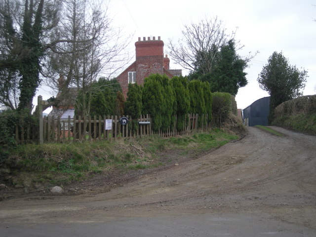 Whittingslow Farm entrance