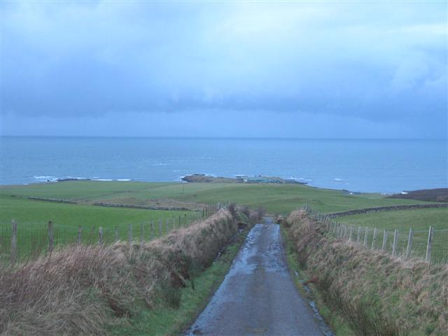 Kintyre Way walk to Ballygroggan