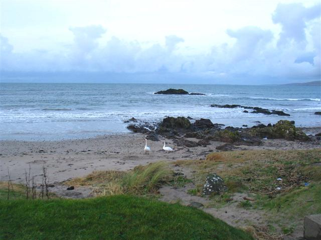 Scart Isle from Machrihanish shoreline
