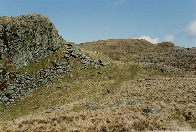 Hillside east of Bwlch Goriwared