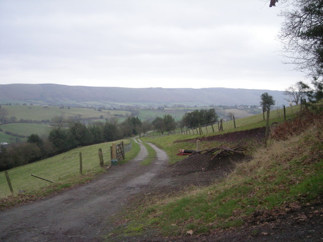 Driveway to Lower Gravenor