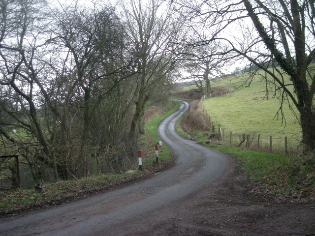 Lane near England Shelve