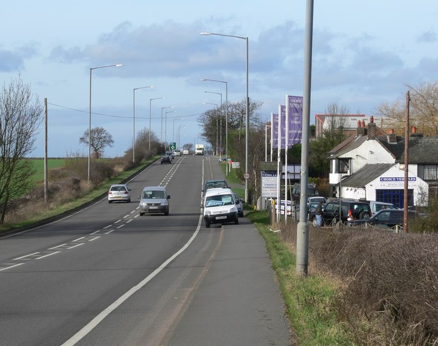 A5 Watling Street at Hollow Farm