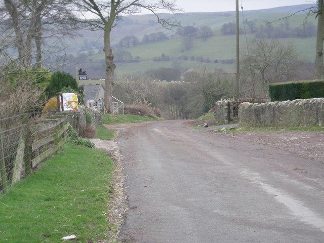 Passing Kinnerton Farm